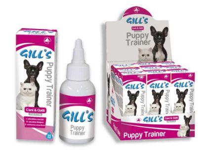 Obrázek GILLS Puppy Trainer návykový sprej 50 ml