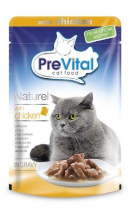 Obrázek PreVital Naturel kuře, kapsa 85 g