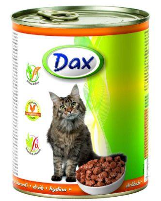 Obrázek Dax Cat kousky drůbeží 830 g