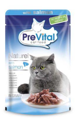 Obrázek PreVital Naturel losos, kapsa 85 g