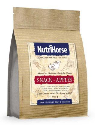 Obrázek NutriHorse Snack (pochoutka pro koně) Apple 600 g