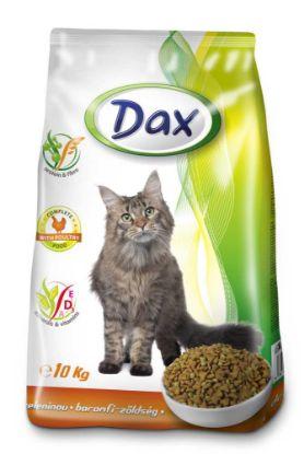 Obrázek Dax Cat granule drůbeží se zeleninou 10 kg