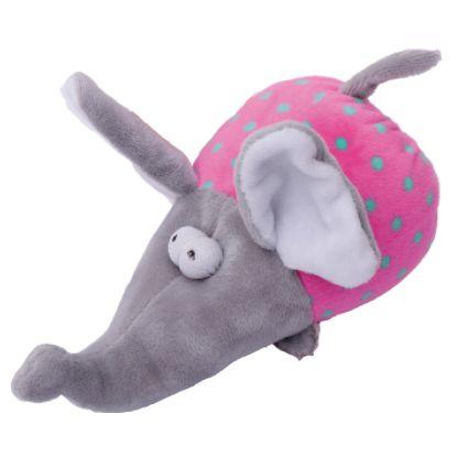 Obrázek Hračka pes - plyšový slon pískací 17 cm