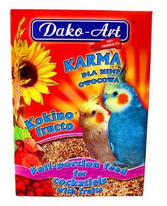 Obrázek Krmivo s ovocem korela Dako 500 g