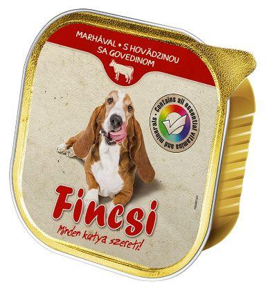 Obrázek Fincsi Dog hovězí vanička 300 g
