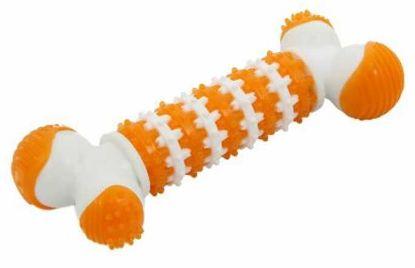 Obrázek Dentální gumová hračka kost