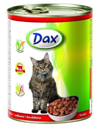 Obrázek Dax Cat kousky hovězí 830 g
