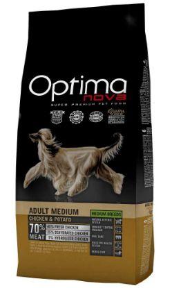 Obrázek OPTIMAnova Dog Adult Medium Chicken & Potato GF 12 kg