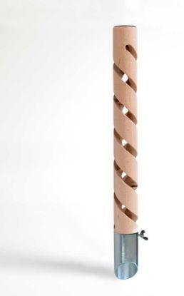 Obrázek Psí pisoár design 4 dřevěný 40 cm