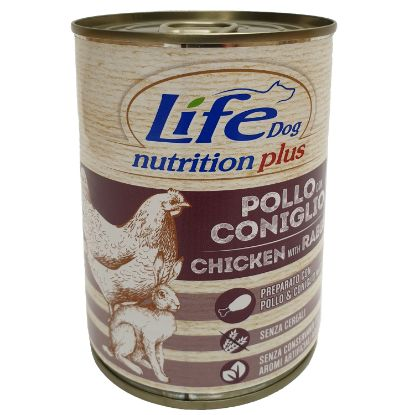 Obrázek LifeDog Chicken and Rabbit 400 g