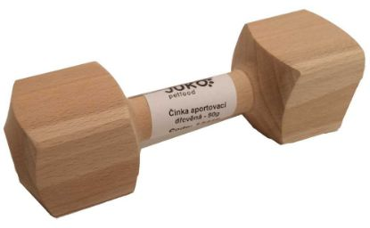 Obrázek Aportovací činka dřevěná JUKO XS 90 g