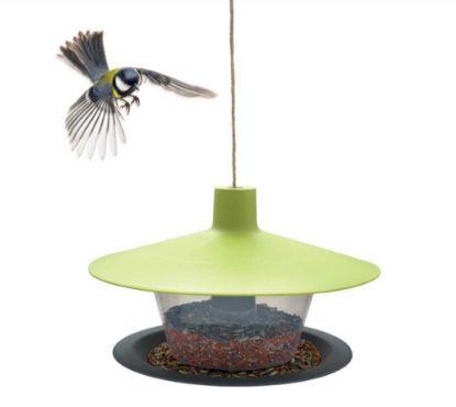 Obrázek Krmítko venkovní Finch talíř zelená