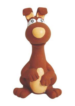 Obrázek Latexová hračka se zvukem - zvíře hnědé 15 cm