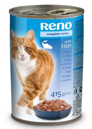 Obrázek RENO Cat rybí, kousky 415 g