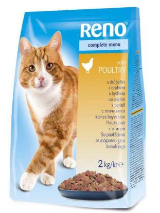 Obrázek RENO Cat drůbeží, granule 2 kg
