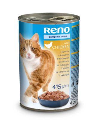 Obrázek RENO Cat kuře, kousky 415 g