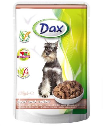 Obrázek Dax Dog kapsička hovězí a králičí 100 g