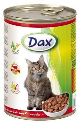 Obrázek Dax Cat kousky hovězí 415 g