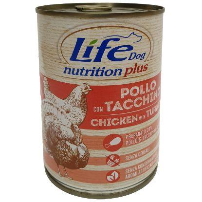Obrázek LifeDog Chicken and Turkey 400 g
