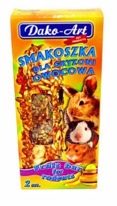 Obrázek Tyčinka s ovocem hlodavec Dako (2 ks)