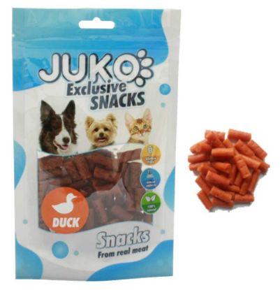 Obrázek JUKO SNACKS Mini Duck stick glukosamin & chondro 70 g