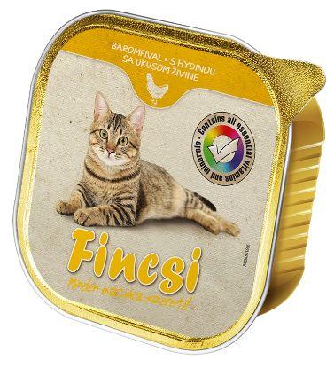 Obrázek Fincsi Cat drůbeží vanička 100 g