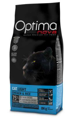Obrázek OPTIMAnova Cat Light 8 kg