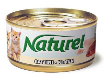 Obrázek Naturel Cat Kitten, konzerva 70 g