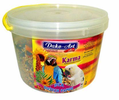 Obrázek Krmná směs Dako velký papoušek 3 l