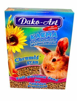 Obrázek Granule králík Dako 500 g