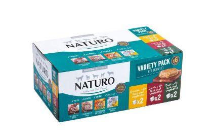 Obrázek Naturo Dog Variety 400 g (6 ks)
