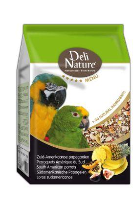 Obrázek Deli Nature 5 Menu jihoamerický Papoušek 2,5 kg