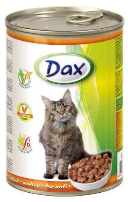 Obrázek Dax Cat kousky drůbeží 415 g