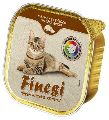 Obrázek Fincsi Cat játra vanička 100 g