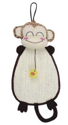 Obrázek Škrábadlo opice k zavěšení s hračkou