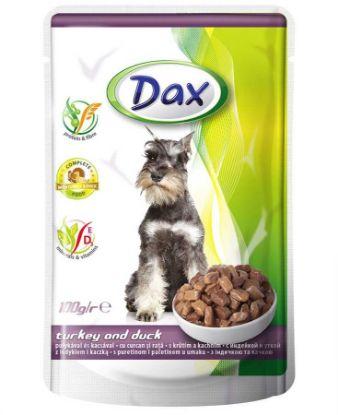Obrázek Dax Dog kapsička krůtí a kachní 100 g