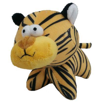 Obrázek Hračka pes - plyšový tygr pískací 12 cm