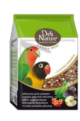 Obrázek Deli Nature 5 Menu africký velký papoušek 2,5 kg