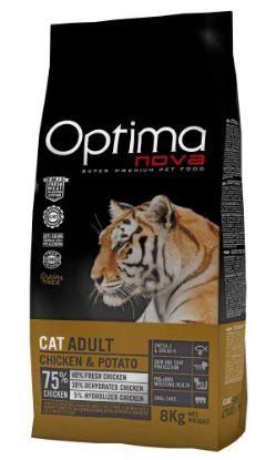 Obrázek OPTIMAnova Cat Chicken GF 8 kg
