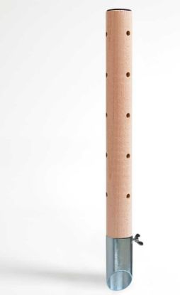 Obrázek Psí pisoár design 2 dřevěný 40 cm
