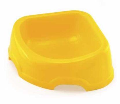 Obrázek Miska plast rohová trojhranná 0,5 l