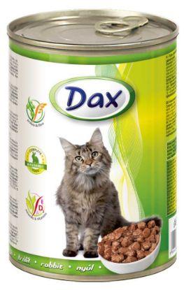 Obrázek Dax Cat kousky králičí  415 g