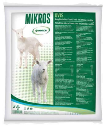 Obrázek MIKROS OVIS sušené mléko, jehně, kůzle 3 kg