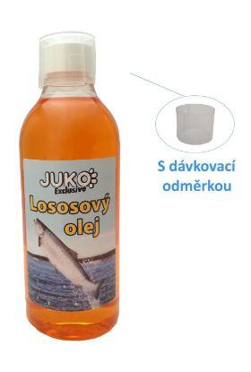 Obrázek Lososový olej s odměrkou JUKO (500 ml)