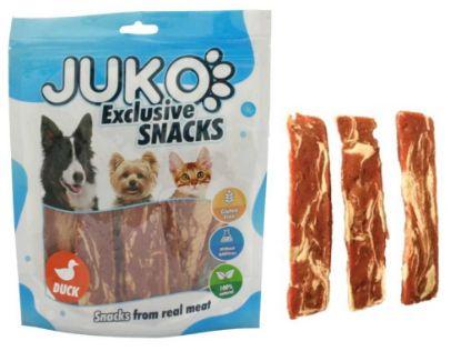 Obrázek JUKO SNACKS Duck & Codfish jerky 250 g