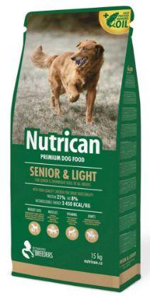 Obrázek Nutrican Dog Senior & Light 15 kg + 2 kg ZDARMA