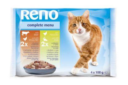 Obrázek RENO Cat  kapsa 100 g (pack 13 x 4 ks)