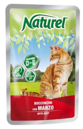 Obrázek Naturel Cat Beef, kapsička 100 g