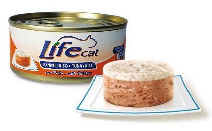 Obrázek LifeCat Tuna with Rice & Chicken 170 g