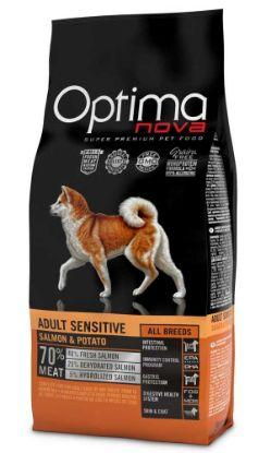 Obrázek OPTIMAnova Dog Adult Sensitive Salmon & Potato GF 12 kg